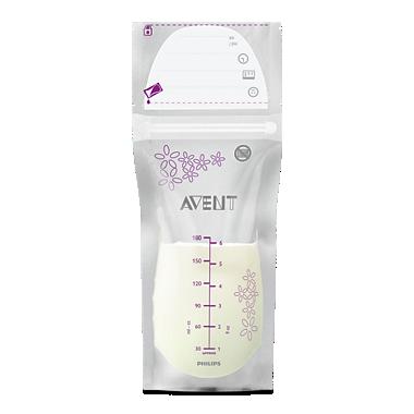 Avent Krūts piena uzglabāšanas maisiņi