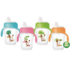 SCF608/22 Philips Avent Decorated Toddler Cup Twin Pack