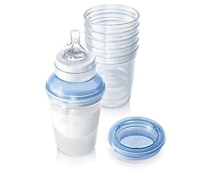 Philips AVENT 儲奶瓶方便儲存