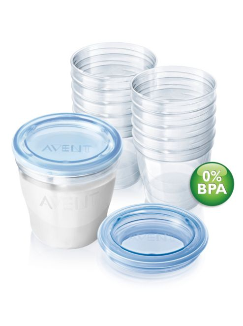 Avent Breast Milk Containers SCF61210 Avent
