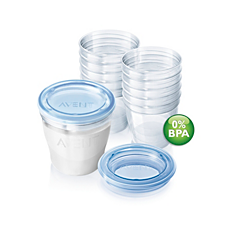 SCF612/10 Philips Avent Breast Milk Containers