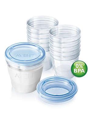 pots de conservation pour lait maternel avent scf612 10 avent