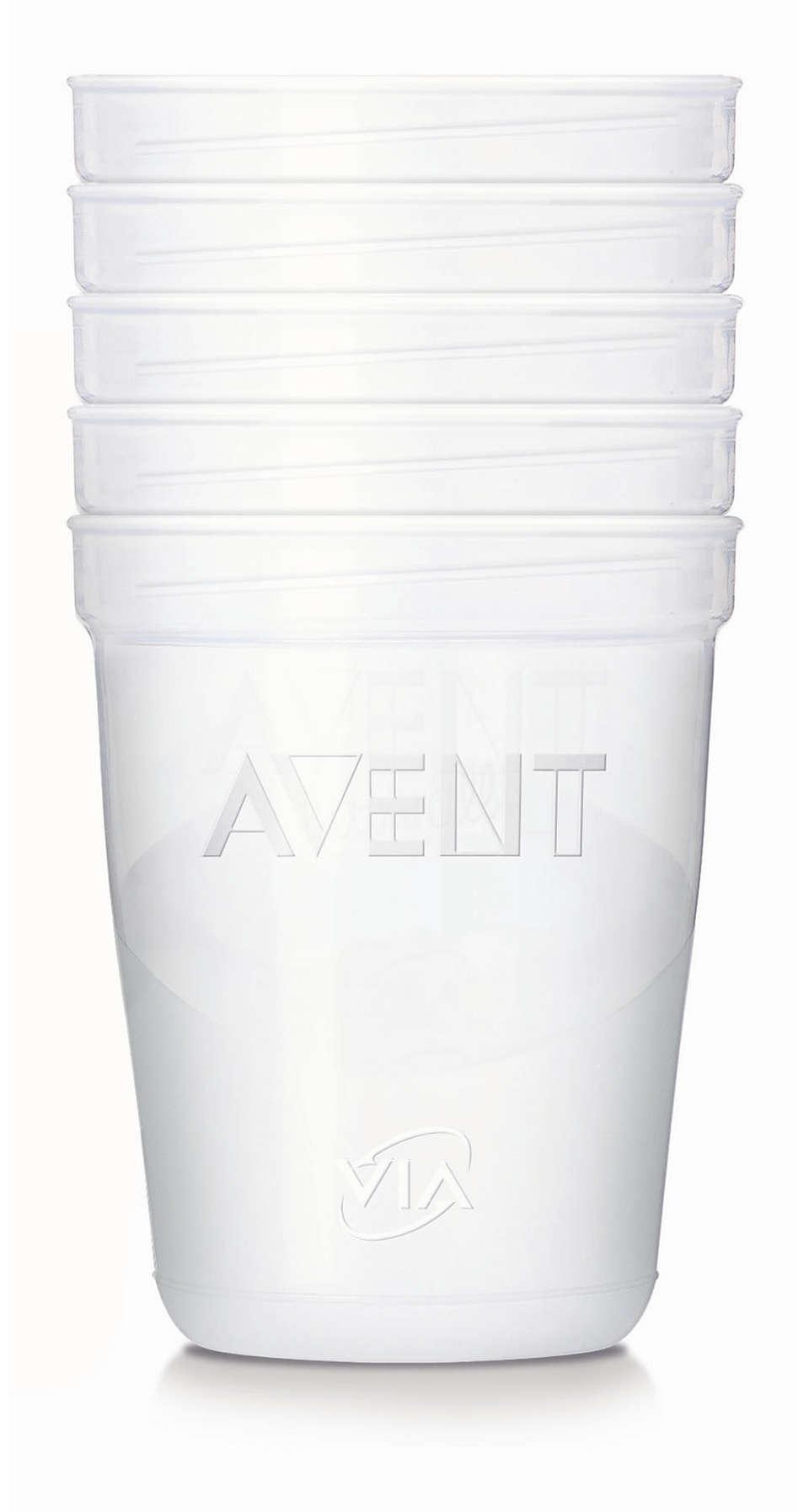 飛利浦 AVENT 儲存系統,方便儲存