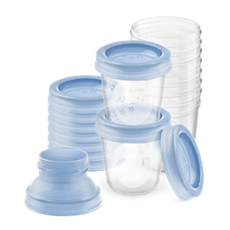 SCF618/10 - Philips Avent  Breast milk storage cups