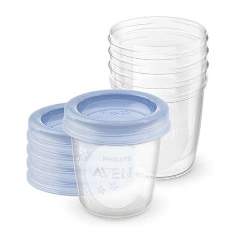 Avent Pohárek na skladování mateřského mléka