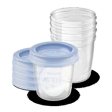 Avent Mehrwegbecher für Muttermilch