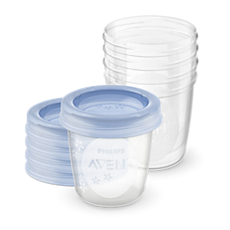SCF619/05 Philips Avent Vaso para el almacenamiento de la leche materna