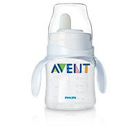 Avent Baby Bottle to first trainer cup
