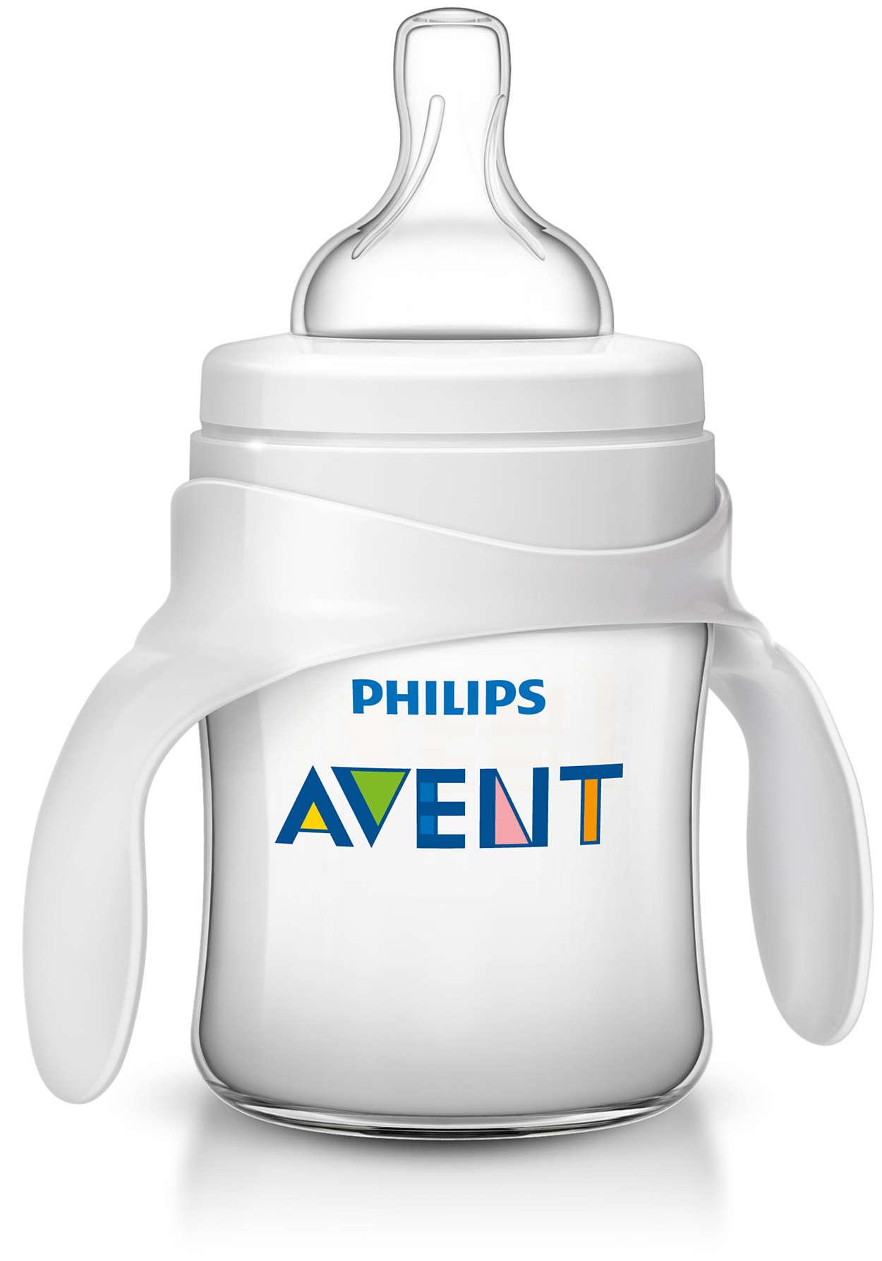 Gør din babys overgang til en drikkekop nemmere