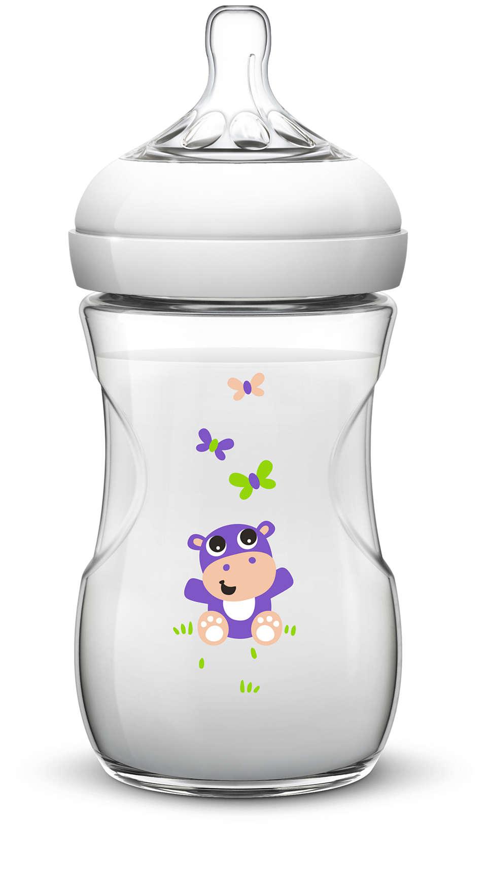 Najbardziej naturalny sposób karmienia butelką