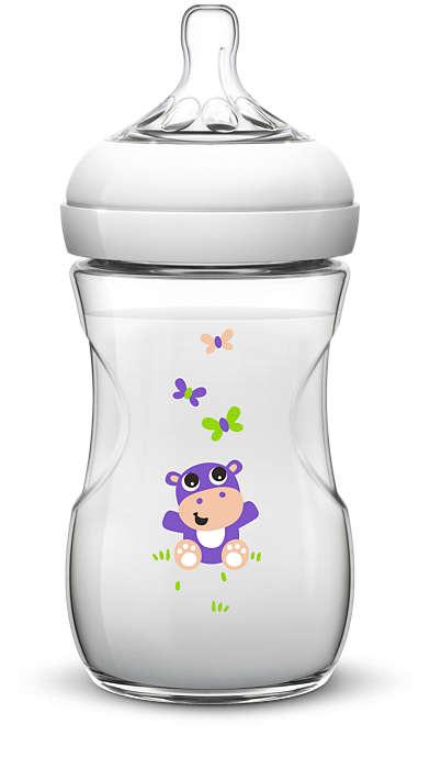 Самый естественный способ кормления из бутылочки