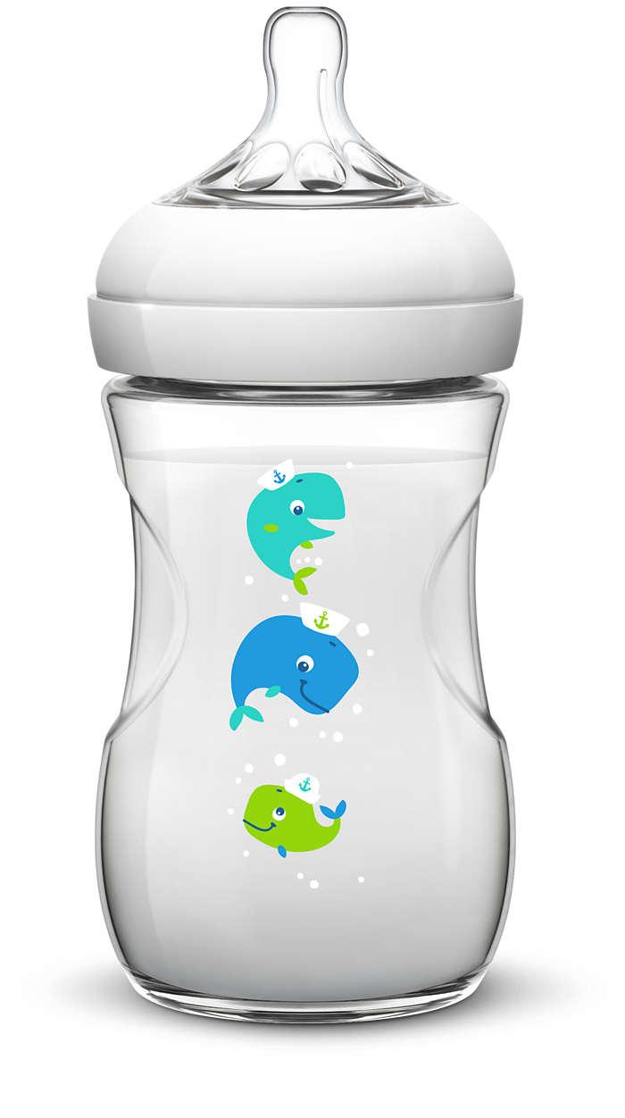 Найприродніший спосіб годування із пляшечки