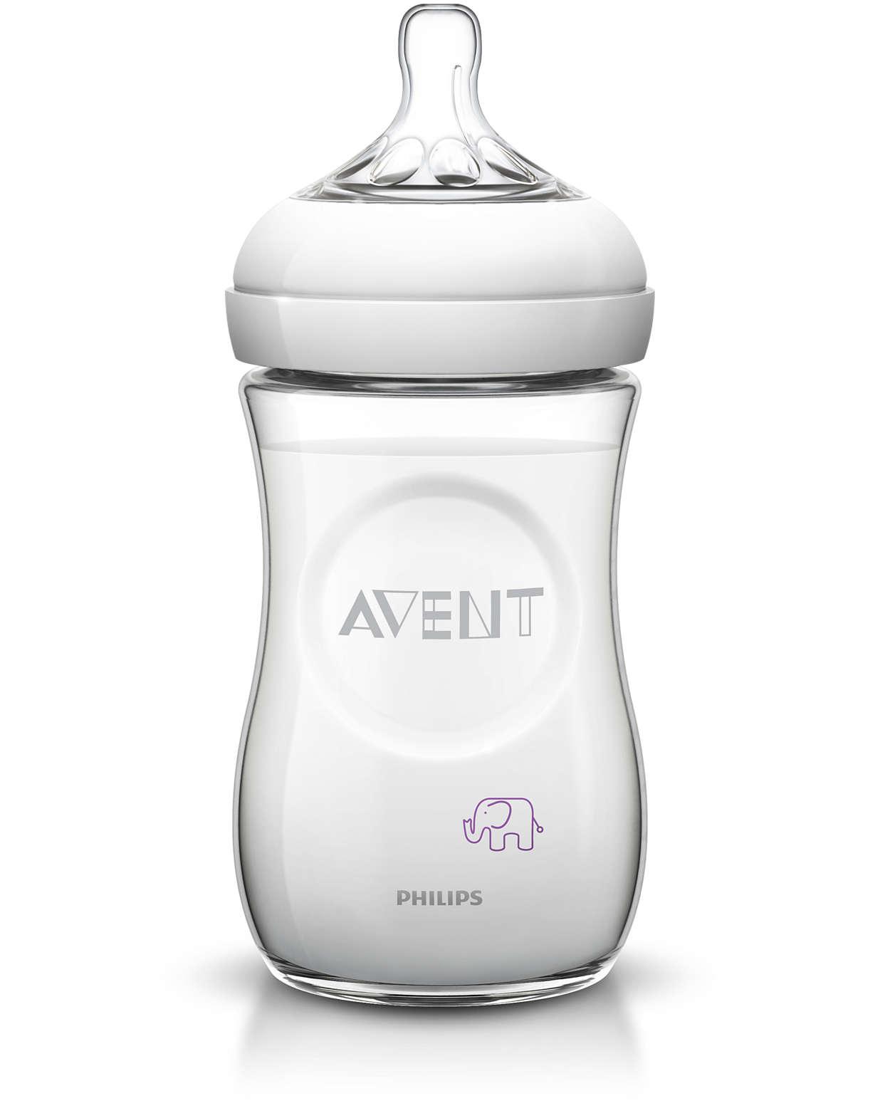 Natūralus būdas maitinti iš buteliuko