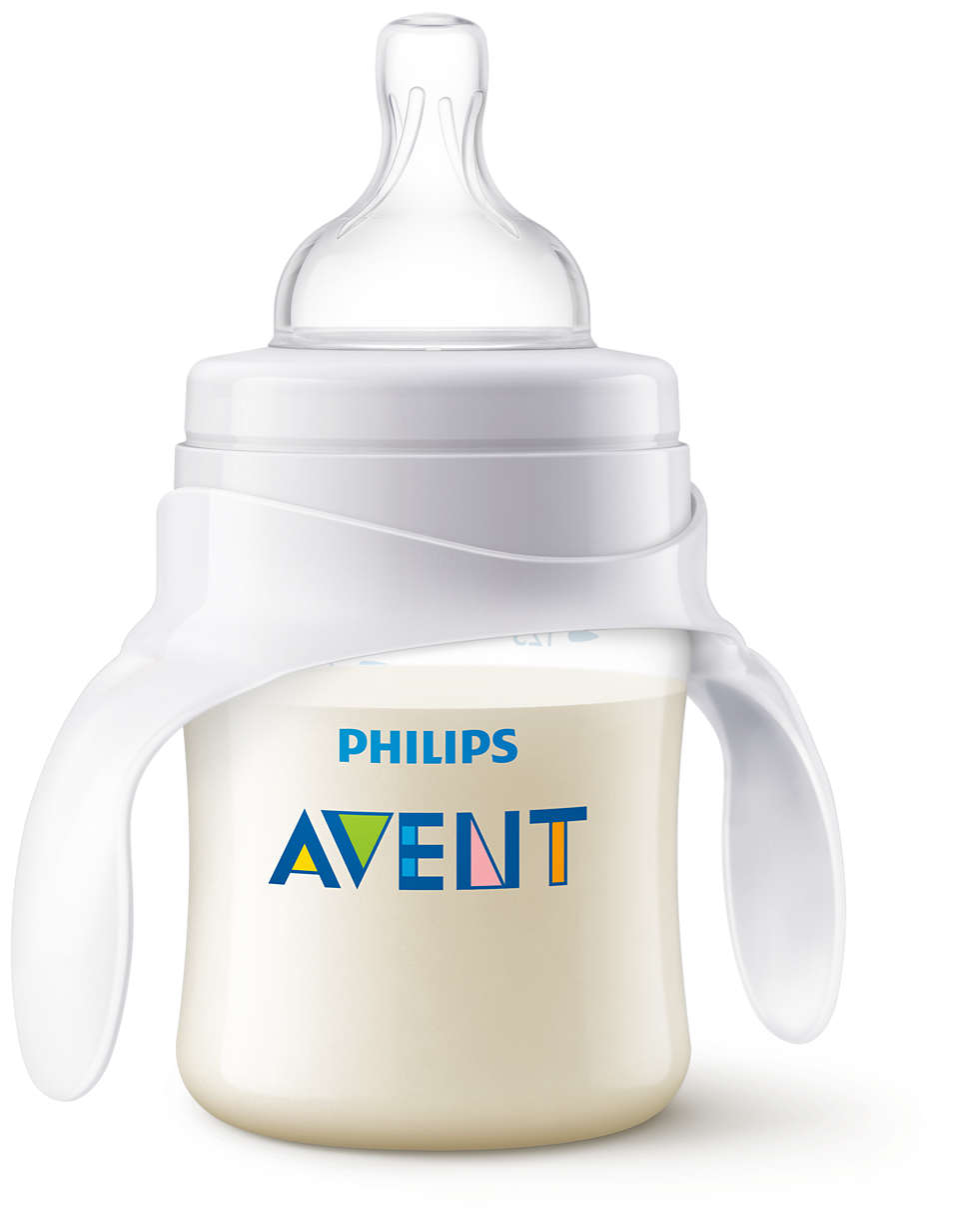 Facilita la transición del bebé al vaso