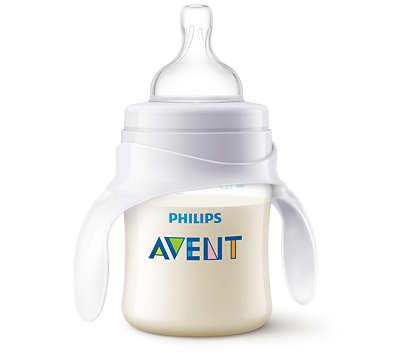 Gjør babyens overgang til drikkekopp enklere