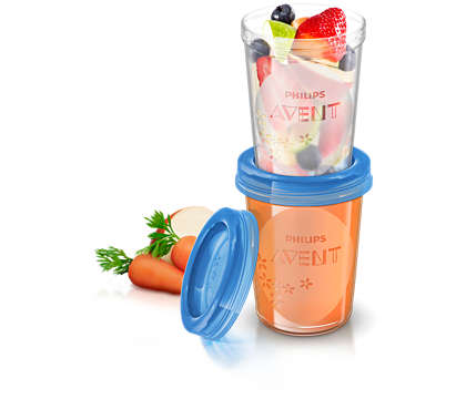 Ideal food storage for home and away