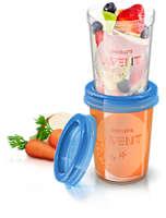 Vaso de almacenamiento de comida estándar