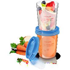 SCF639/05 - Philips Avent  Vaso de almacenamiento de comida
