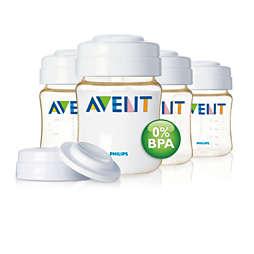 Avent Breast milk storage container
