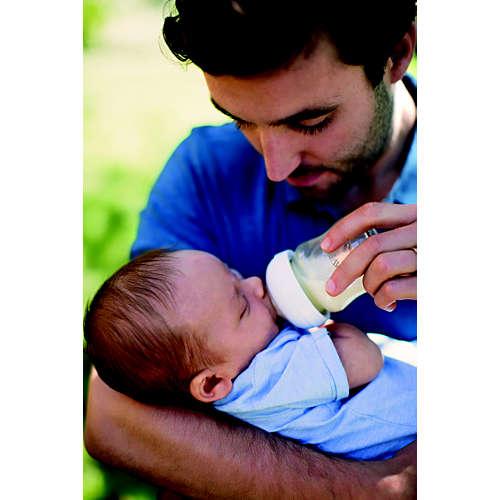 Avent Naturnah-Babyflasche aus Glas