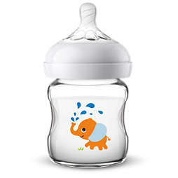 Avent Natural glass baby bottle