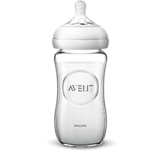 SCF673/13 Philips Avent Natural glass baby bottle