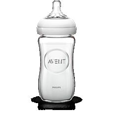 SCF673/17 - Philips Avent  Szklana butelka dla niemowląt Natural