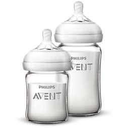 Avent 自然顺畅原生系列玻璃婴儿奶瓶喂养套装