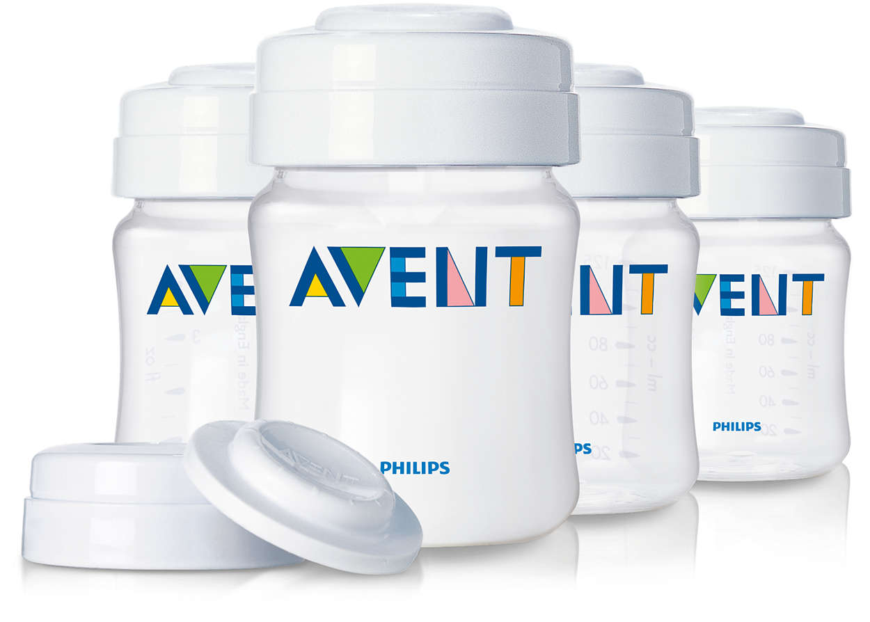 Avent Breast Milk Containers Scf680 04 Avent