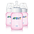 Philips Avent Classic baby bottle SCF684/37 3 Classic bottles 9oz/260ml Slow flow nipple