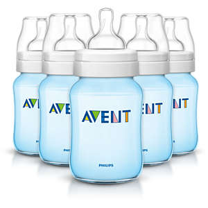 5 Classic bottles 9oz/260ml Baby Bottle