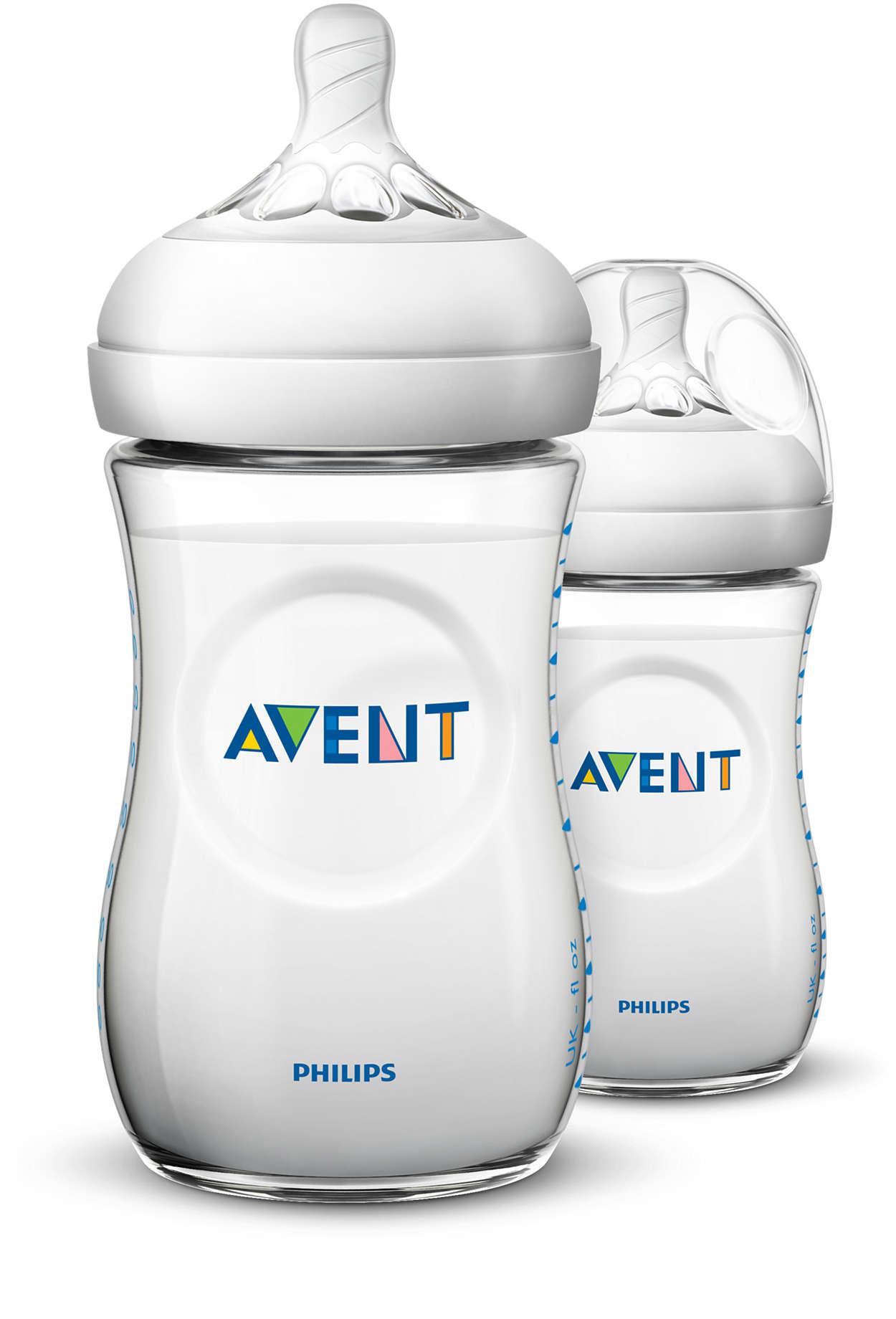 以最自然的方式使用奶瓶餵哺
