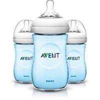 3 Bottles 9oz/260ml Natural baby bottle