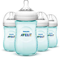 4 Natural bottles 9oz/260ml Baby bottle