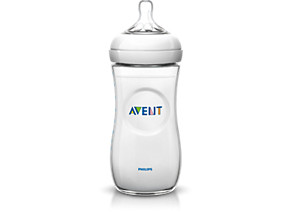 Philips Avent Baby bottle SCF696 17 1 Natural bottle 11oz 330ml Medium flow nipple Natural nipple shape