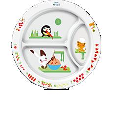 SCF702/00 - Philips Avent  Plato con compartimientos infantil (12m+)
