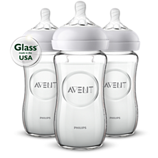 SCF703/37 Philips Avent Natural glass baby bottle