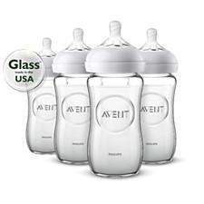 Natural baby bottles