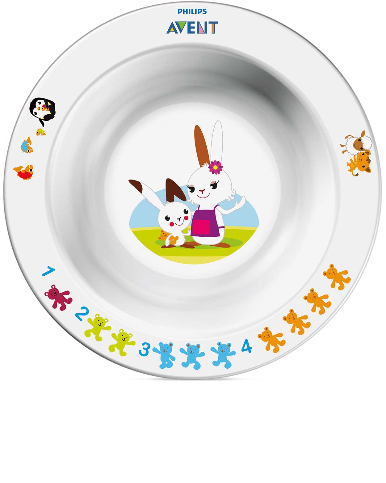 Pour que votre enfant apprenne à manger tout en s'amusant