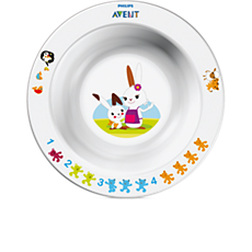 SCF706/00 - Philips Avent  Mała miseczka dla dziecka 6m+