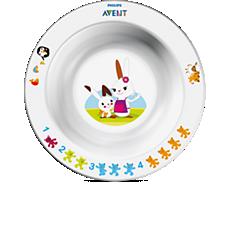 SCF706/00 - Philips Avent  Детская тарелка маленькая 6 мес+