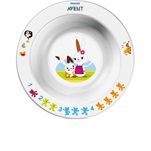 Avent Liten skål för småbarn, 6 m+