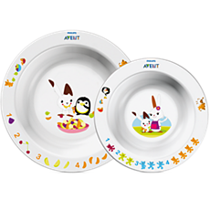 SCF708/00 Philips Avent Toddler 2 bowl set 6m+