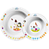 Avent Set infantil de 2 platos hondos, 6m+