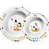 Avent Set med 2 skålar för småbarn, 6 m+