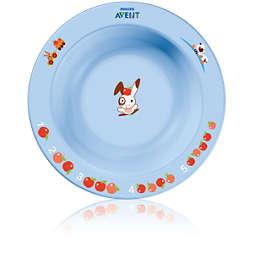 Avent Set de 2 platos hondos (6m+)
