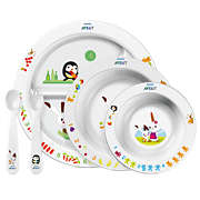 Avent مجموعة أدوات طعام الأطفال الصغار بسن 6 أشهر وما فوق