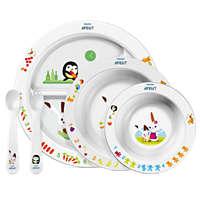 BPA-freies Ess-Lern-Set für Kinder ab 6Monaten