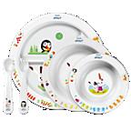 Avent Set de alimentación infantil (6m+)
