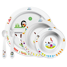 SCF716/00 Philips Avent Set de alimentación infantil 6m+